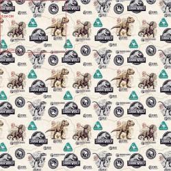 Cotton Fabric - Jurassic...