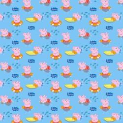 Cotton Fabric – Peppa Pig –...