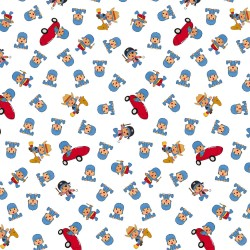 Cotton Fabric – Pocoyo – Games
