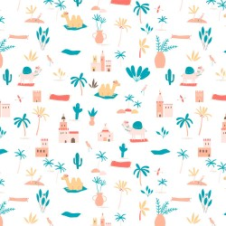 Jersey Fabric - Katia -...