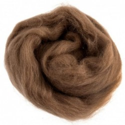 Natural Wool Roving for...