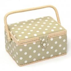Sewing Box – Polka Dot...