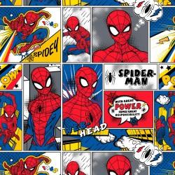 Tela de Algodón - Spiderman...