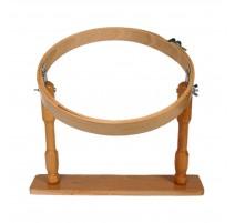 Bastidor con pie de madera