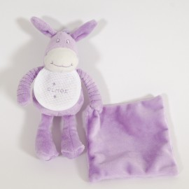 Donkey Purple Soft Toy
