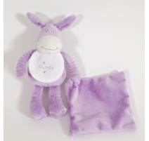 Donkey Purple Soft Toy