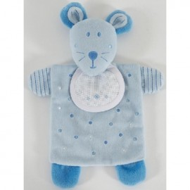 Blue Mouse Soft Toy