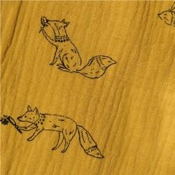 Tela Muselina Katia - Foxes