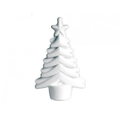 Colgante arbol Navidad de porex
