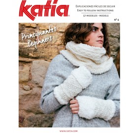 Katia Knitting Woman Magazine nº4 Beginners