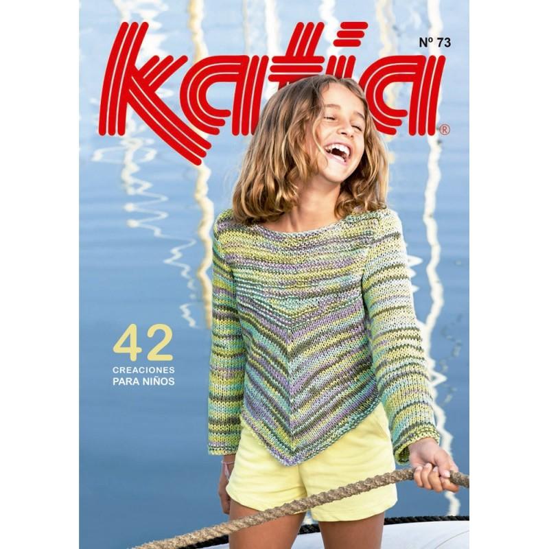 Katia Knitting Kids Magazine Nº 73