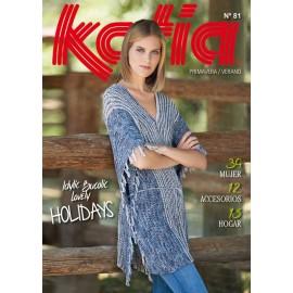 Katia Knitting Woman Magazine nº81