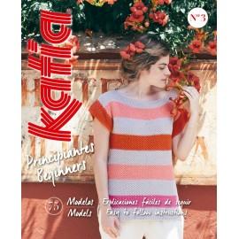 Katia Knitting Beginners Magazine nº3
