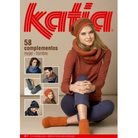 Katia Knitting Woman/Man Accesories Magazine Nº 7