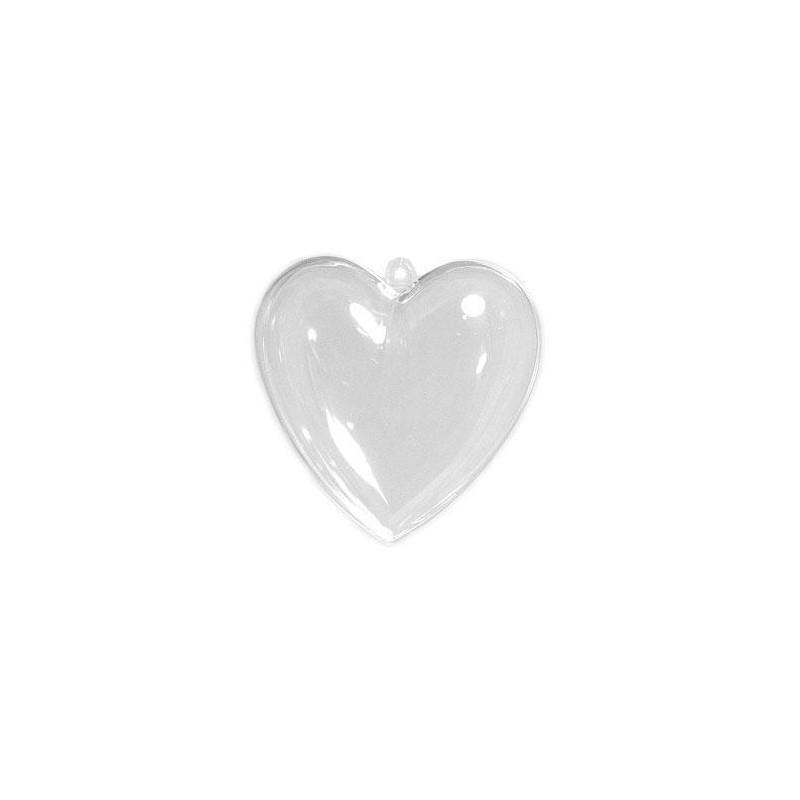Colgante plexiplast corazón