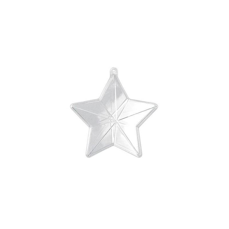 Colgante plexiplast estrella