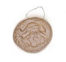 Colgante de Papel Maché - Papá Noel