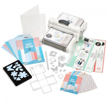 Kit para principiantes Sizzix Big Shot Plus