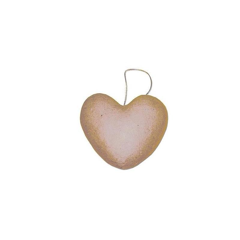 Colgante de Papel Maché - Corazón