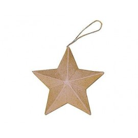 Star Hanging Paper Mache