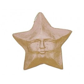 Star-faced Hanging Paper Mache