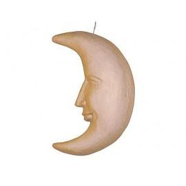 Moon Hanging Paper Mache