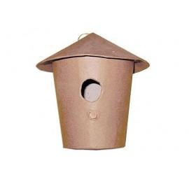 Birdhouse Hanging Paper Mache