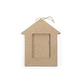 House Photo Frame Hanging Paper Mache