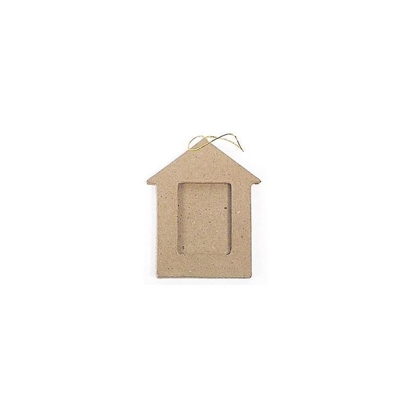 house photo frame hanging paper mache las tijeras m gicas. Black Bedroom Furniture Sets. Home Design Ideas