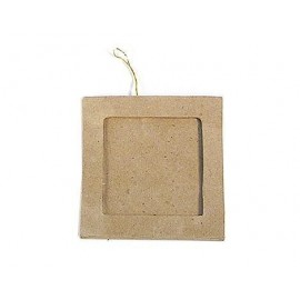 Square Photo Frame Hanging Paper Mache