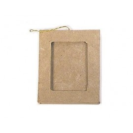Rectangular Photo Frame Hanging Paper Mache