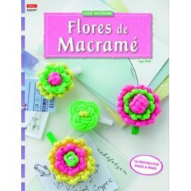 Serie Macramé nº 7. Flores de Macramé