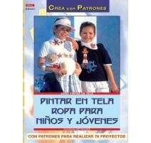 Pintar en tela ropa para niños y jóvenes