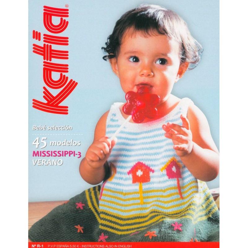 Katia Knitting Baby Magazine NºR-1