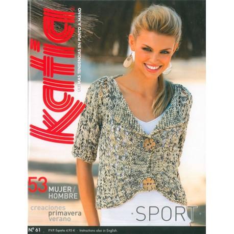 Revista Katia Mujer/Hombre Nº 61 Sport