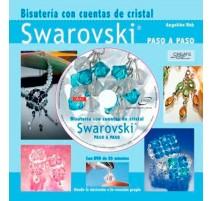 Bisutería con cuentas de cristal Swarovski paso a paso. Libro + DVD