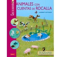 Animales con cuentas de rocalla