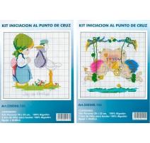 Kit Introduction to Cross Stitch - Joy od Arrival / I love you
