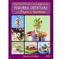 Terroríficas y simpáticas figuras creativas con pasta de modelar