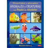 Divertidos y alocados animales y criaturas con pasta de modelar