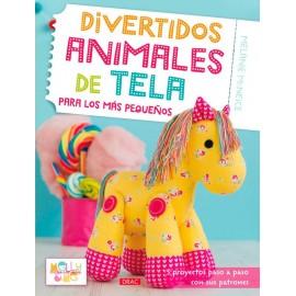 Divertidos animales de tela para los más pequeños