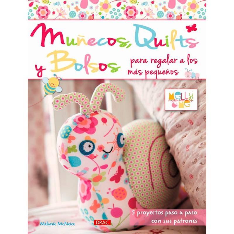 Muñecos, quilts y bolsos para regalar a los más pequeños