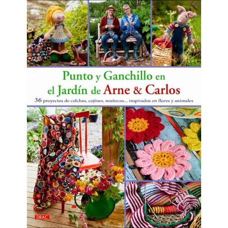Punto y ganchillo en el jardín de Arne y Carlos