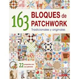 163 bloques de patchwork. Tradicionales y originales