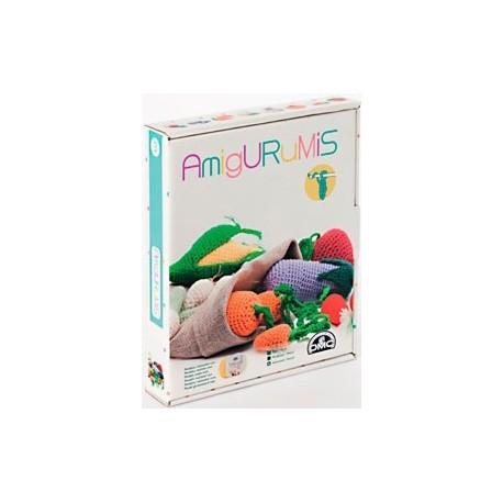 Kit Amigurumi Frutas y Verduras
