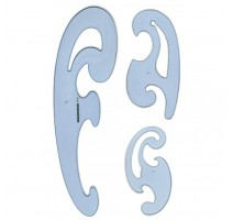 French curves set