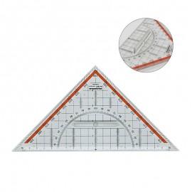 Regla Triangular con Mango 225 mm