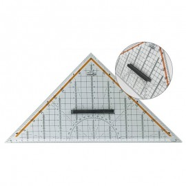 Triangular ruler with handle 325 mm