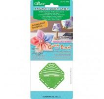 Plantilla para Flores Kanzashi Clover - Pétalo Puntiagudo Pequeño