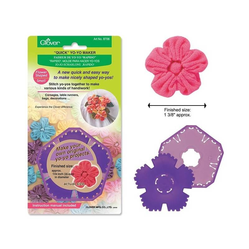 Clover Quick Yoyo Maker Flower Shaped Small